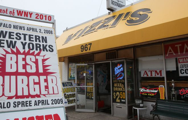 Beloved burger stop Vizzi's has been closed since Dec. 5 fire and police still seek the cause of the blaze. (Harry Scull Jr./Buffalo News file photo)
