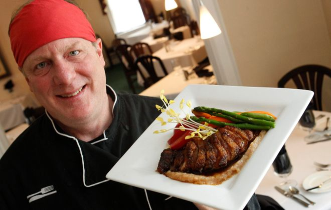 In 2015, Scott Donhauser bought out partners to take over Daniels Restaurant. (Sharon Cantillon/Buffalo News file photo)