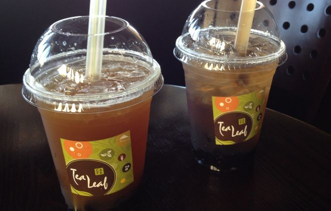 """Bubble tea, with optional tapioca """"pearls,"""" comes in 50 or more varieties at Tea Leaf Cafe. (Andrew Galarneau/News file photo)"""