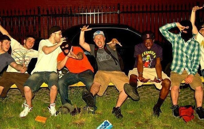 Two local hip-hop collectives, EV III Posse and Voltron III (pictured), are on the upswing.