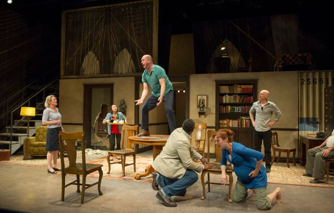 "A family breakdown of epic proportions is at the heart of the Shaw Festival's production of Tony Kushner's ""The Intelligent Homosexual's Guide to Capitalism and Socialism with a Key to the Scriptures."" Kushner's characters' believable flaws drive the story."