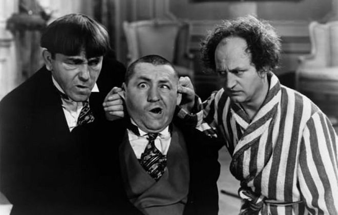 The Three Stooges Film Festival returns to the Riviera Theatre on Saturday.