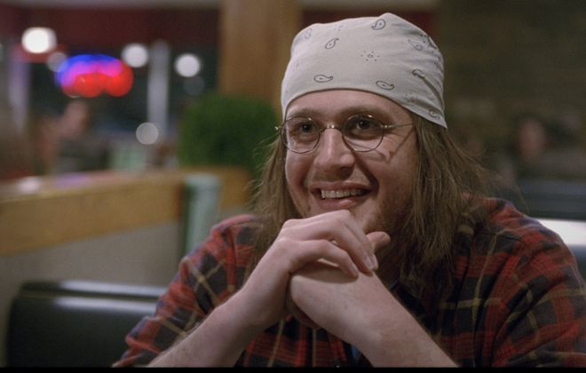 """The End of the Tour"" is about writer David Foster Wallace, who electrified the literary world. Wallace is portrayed by Jason Segel."