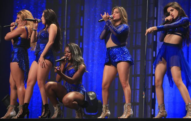 Fifth Harmony performs at Shea's Performing Arts Center on Sunday. (Harry Scull Jr./Buffalo News)