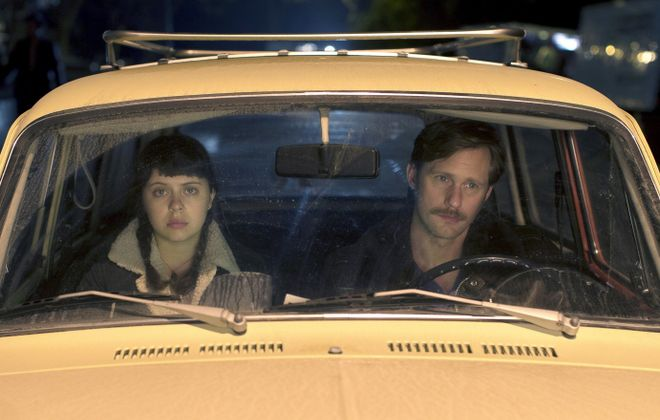 "Bel Powley and Alexander Skarsgard star in ""The Diary of a Teenage Girl."""