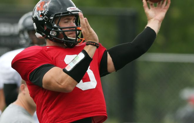 Kyle Hoppy threw for more than 2,200 yards and 22 touchdowns last season as Buffalo State picked up eight wins and reached an ECAC Bowl.
