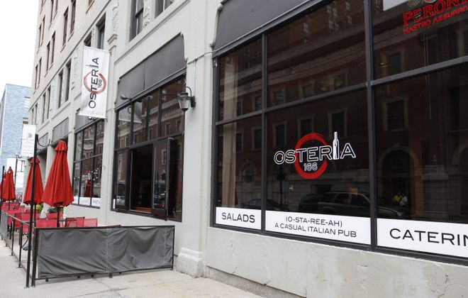 Osteria 166 sits at 166 Franklin St. in downtown Buffalo. (Sharon Cantillon/News file photo)