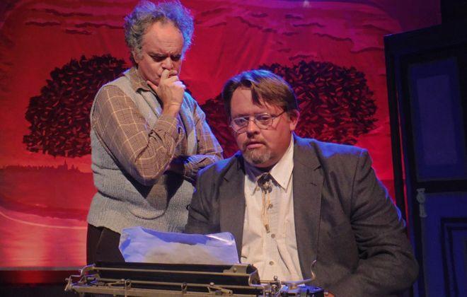 "Tim Joyce and John Kennedy star in Subversive Theatre's season-opening production of ""Slaughterhouse Five."""