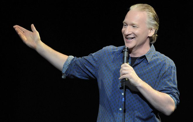Bill Maher performs Saturday in Shea's Performing Arts Center. (Photo by David Becker/WireImage)