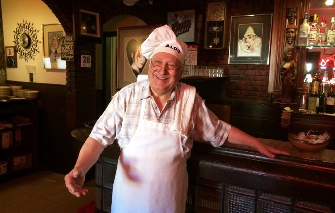 La Hacienda owner Aldo Evangelista wanted to sell his classic Italian restaurant after 40 years in business. (Ryan Nagelhout/Special to The News)