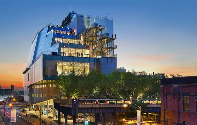 The new Whitney Museum of American Art, designed by architect Renzo Piano, opened in New York City this past May.