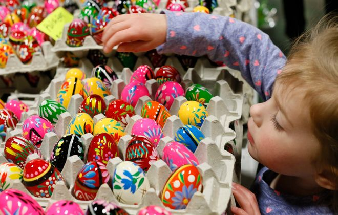 Kids can explore all the delights at the Broadway Market during a trick-or-treat event from 11 a.m. to 2 p.m. Oct. 31. .  (Derek Gee/Buffalo News file photo)