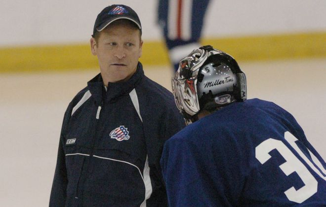 It will be just like old times for new Rochester Americans coach Rnady Cunneyworth, who spent eight seasons coaching Rochester from 2000 to 2008.  (Mark Mulville/Buffalo News file photo)