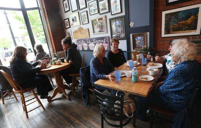 Katy's Cafe is a great place to stop for coffee or a meal in Ellicottville. See a photo gallery at buffalonews.com.