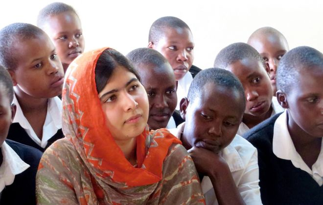"Malala Yousafzai is the subject of the film ""He Named Me Malala."""
