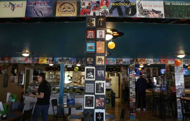 Hoffman Central House on Route 98 in North Java has a vintage music theme with records and 8-track tapes covering the walls. See a photo gallery at buffalonews.com.