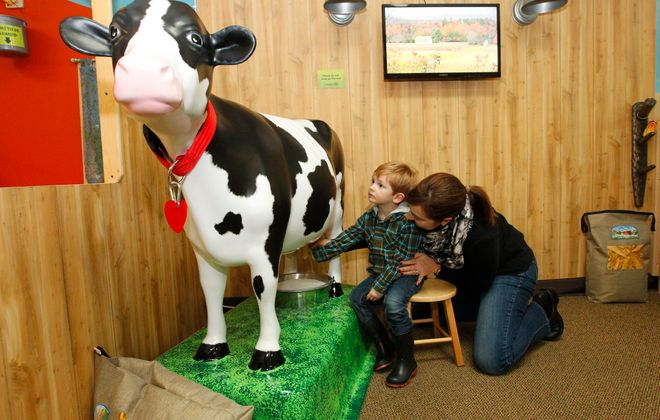 The Explore & More Museum in East Aurora has plenty of fun activities for kids of all ages.  (John Hickey/Buffalo News file photo)