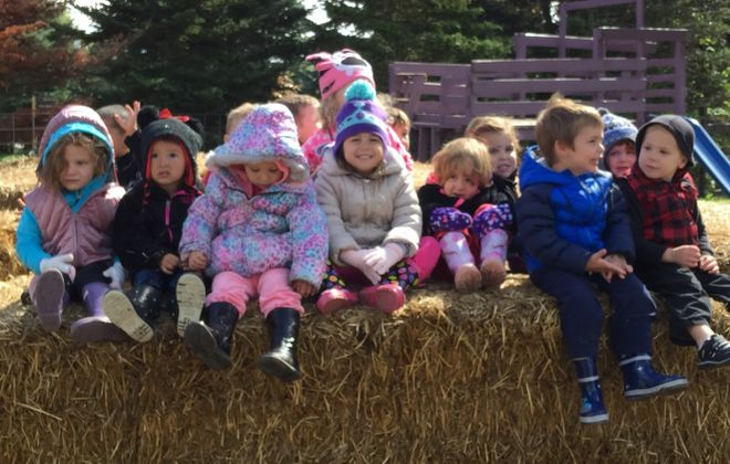 Kids can take a wagon ride, visit farm animals and pick their own pumpkins at Becker Farms. (News File Photo)