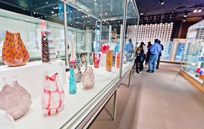 The Modern Glass Gallery. (The Corning Museum of Glass)