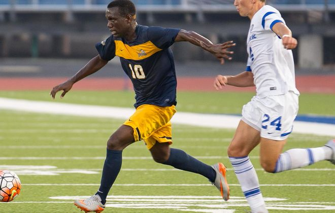 Canisius redshirt freshman Melvin Blair has scored five goals in his last two games, both wins. (Don Nieman/Special to The News)