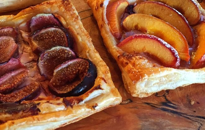 Various tarts from Salt Cuisine. (Holly Metz Doyle/Special to The News)