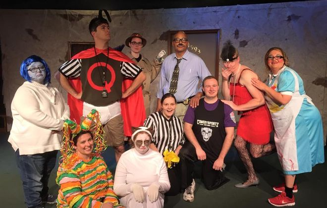 Buffalo Comedy Sportz will be represented in the Science and Art Cabaret on Nov. 19.