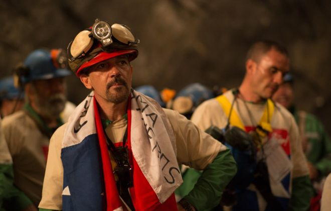 "Antonio Banderas stars in ""The 33."""