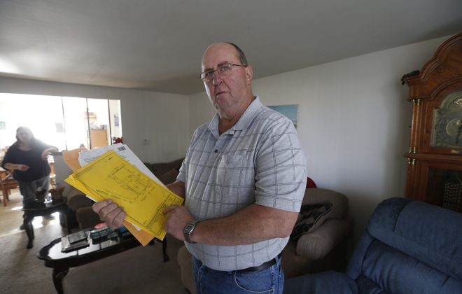 The home of Warren Kubiak, 67, a retired corrections officer, was foreclosed upon last year and sold at auction, but he was not notified of the $45,333 surplus.