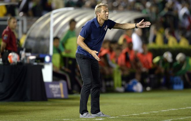After a difficult four months, Jurgen Klinsmann will try to get the U.S. Men's National Team off to a strong start in World Cup Qualifying. (Photo by Kevork Djansezian/Getty Images)