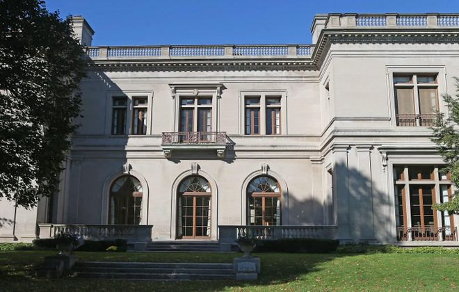 The historic Knox Mansion is still owned by Computer Task Group, which sold a second building down the street. (Robert Kirkham/News file photo)