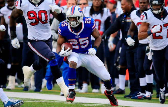 LeSean McCoy and the Buffalo Bills visit the Houston Texans on Sunday. (Harry Scull Jr./Buffalo News)
