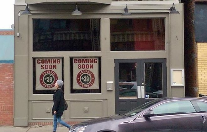 The exterior of Frankie Primo's +39. (Courtesy of Frankie Primo's +39)