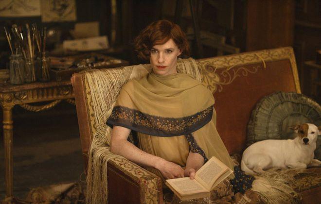 "Eddie Redmayne in ""The Danish Girl."" (Agatha A. Nitecka/Focus Features/TNS)"