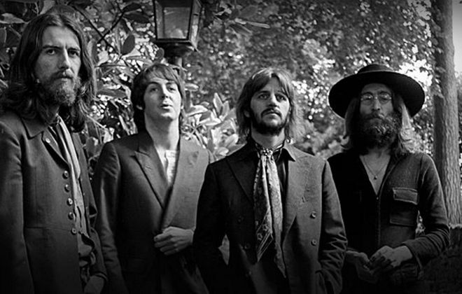 The Beatles' catalog finally becomes available via digital streaming services at 12:01 a.m. on Dec. 24.