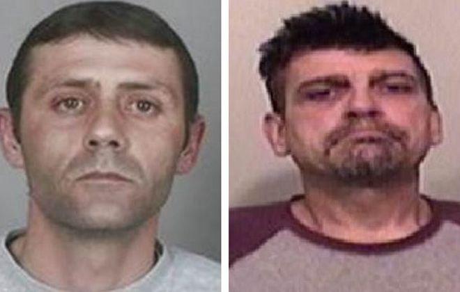 Authorities say John A. Battaglia, right, and James M. Baglio were ringleaders.