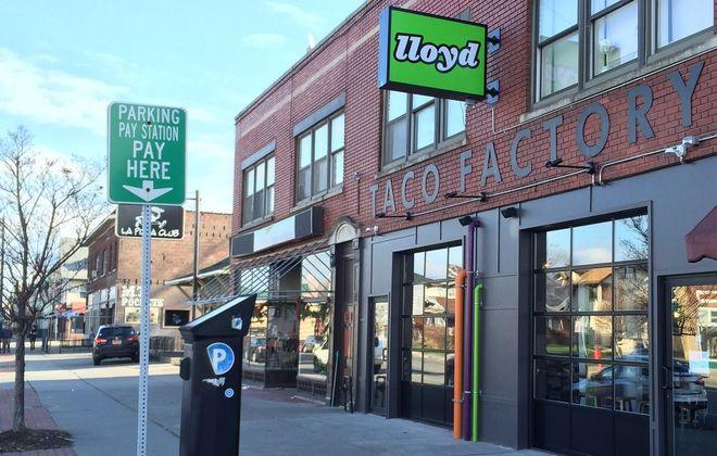 The original Lloyd Taco Factory, 1503 Hertel Ave., opened in 2015. (Ben Tsujimoto/Buffalo News)
