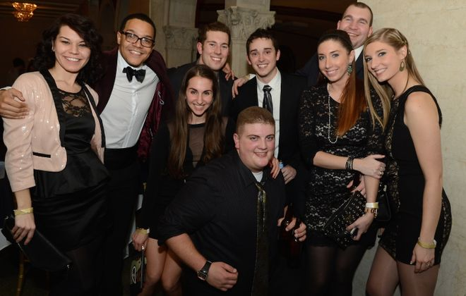 The Statler City Ice Ball is just one of several dressy parties in Western New York on New Year's Eve. (Nancy J. Parisi/Special to The News)