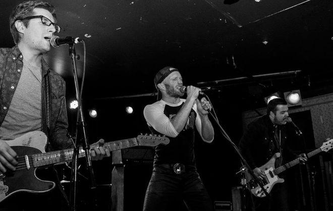 The Buffalo band Sixties Future. (Photo by Brendan O'Connor)