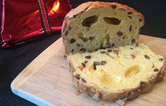 The panettone, a rich Italian import dessert, is available at a few different locations in Western New York, for different prices. (Joseph Leta/Special to The News)