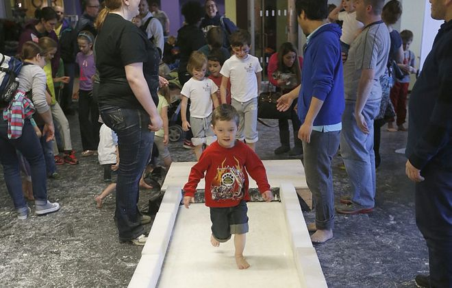 Messfest is littered with activities in the Buffalo Museum of Science. (Robert Kirkham/Buffalo News file photo)