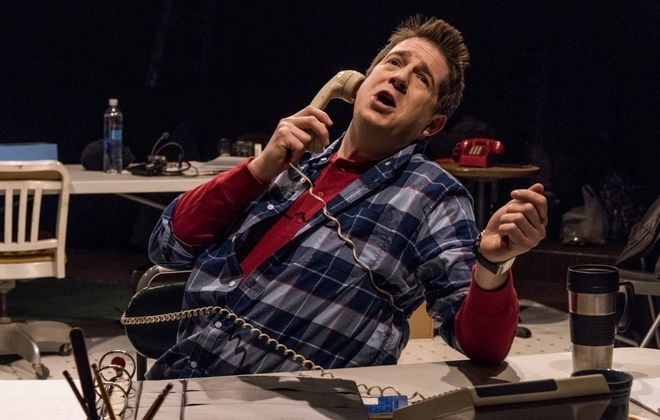 """Brian Mysliwy is remarkable in """"Fully Committed"""" at Irish Classic Theatre Company."""