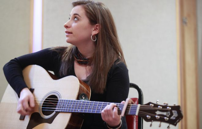 Grace Stumberg releases her solo debut in concert at the 9th Ward @ Babeville. (Photo by Harry Scull Jr. / Buffalo News file photo)