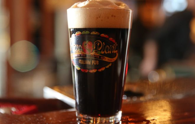 The Smuttynose Robust Porter is available at Pizza Plant's Canalside location. (Sharon Cantillon/Buffalo News)