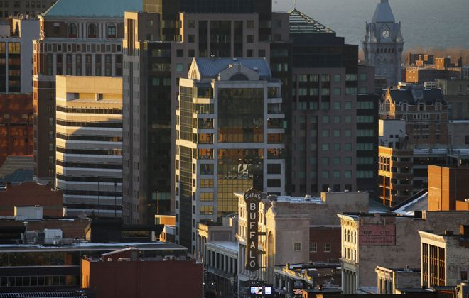 Census figures show metro Buffalo (including Erie and Niagara counties) remains the nation's 50th largest metropolitan area with 1,135,230 people. (Derek Gee/Buffalo News)