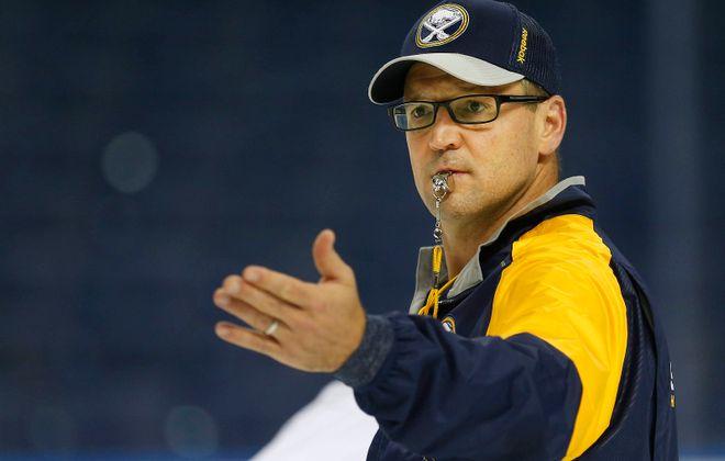 Dan Bylsma. (Mark Mulville/Buffalo News)
