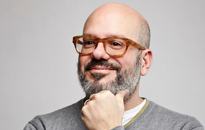 David Cross will perform at the University at Buffalo's Center for the Arts. (Photo by Daniel Bergeron)