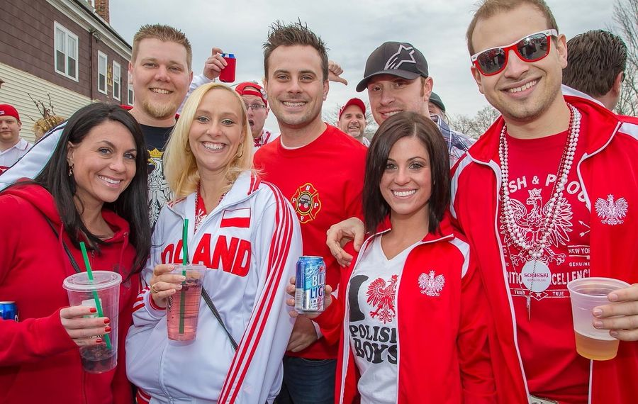 Dyngus Day festivities in Buffalo have it crowned as the 'capital of the world.' (Don Nieman/Special to The News)