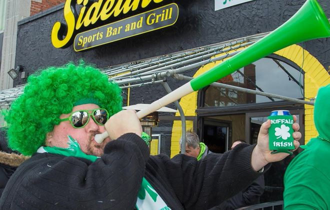 Sound the horn! St. Patrick's Day Weekend is upon us. (Don Nieman/Special to The News)