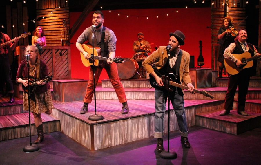 """The cast from MusicalFare's 2016 production of """"Ring of Fire"""" returns for a new show at Shea's 710 Main Theatre."""