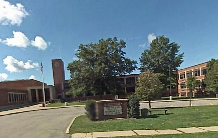 Police are investigating threat written on bathroom wall at Orchard Park Middle School. (Google Maps)